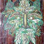 Green Man Mosaic