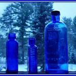 Blue bottles