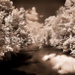 Oatka Creek in Infrared