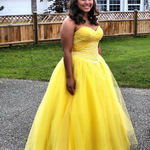 Jess in her Prom Gown