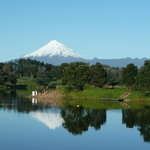 Lake Rotomanu Mt Egmont