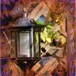 Lantern & Jewel Tone Window