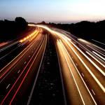 Night Lights on the M6