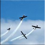 Acrobatics in teh air