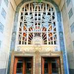 Doorway of the Vancouver Marine Building