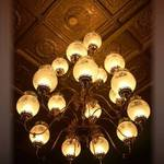 Chandelier at Clementines