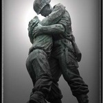 War brothers embrace