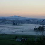 Misty Volcano