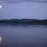 Moon Rise - Algonquin Park