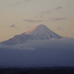 Mt Egmont at Sunset