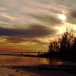November Evening over Aclote Island