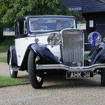 Old Singer car 2