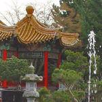 Pagoda & waterspout