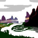 Li River in the morning