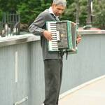 Paris Street Musician