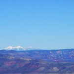 San Francisco Peaks from Jerome
