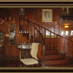 Lobby of the Rod and Gun Club and Lodge
