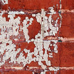 Peeling Paint on Brick