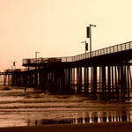 Pismo at Sunset