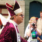 Pope's Emissary Enters Race