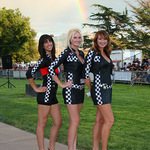 Trophy Girls And Rainbow