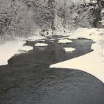 River After a Snow Storm