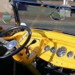 Vintage '32 Ford Roadster Dash
