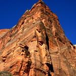 towering rock