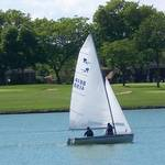 Sailboats on Memorial Day