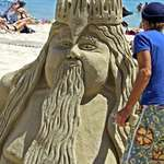 Sandcarving