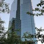 Vancouver glass clad skyscraper