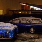 Snowfall in Dannevirke