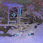 Snowy Patio 2 Enhanced