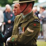 Soldier at ANZAC Day Parade