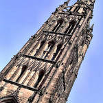 Coventry Cathedral, West Tower & Spire