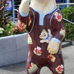 "Spirit Bear ""Bearsnoozy"" in Vancouver, BC"