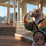 "Spirit Bear ""Simon"" at Canada Place"