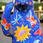 "Spirit Bear ""Whimsical Meadow Bear"""