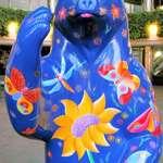 """Spirit Bear """"Whimsical Meadow Bear"""""""