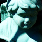 Cherub Planter