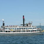 Steamboat on Lake George, N.Y.