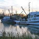 Fishing Boats at Sundown - Rest