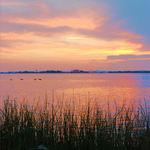 Sunset, Delaware River