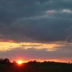 Sunset in June