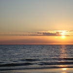 Sunset on Treasure Island