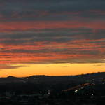 Sunset Auckland NZ
