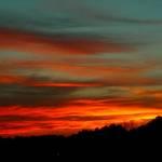 Sunset through Clouds1