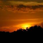 Sunset through Clouds2
