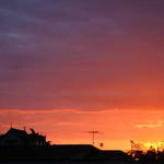Spring-time Sunset