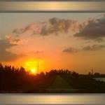 Sunset by Lake Okeechobee